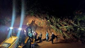 Alud de tierra sobre un bar deja 7 muertos y más de 20 desparecidos en Puerto Valdivia