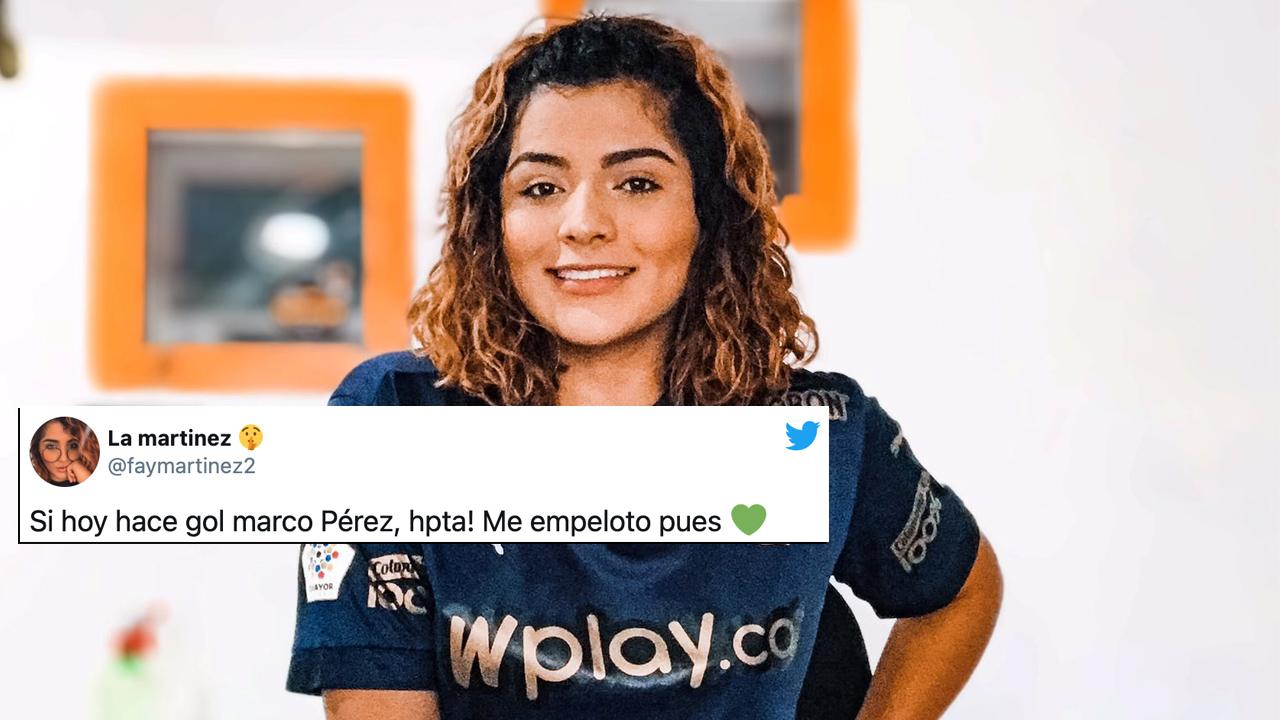 Locutora de Cali se desnudó por gol de Marco Pérez al Junior