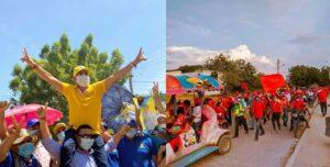 COVID-campañas políticas en Tenerife, Magdalena