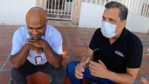 La confrontación al locutor Rubén Villa tras su agresión física a una mujer