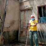 Boxeando contra la vida: Abdón Peralta sueña con  reconstruir su casa
