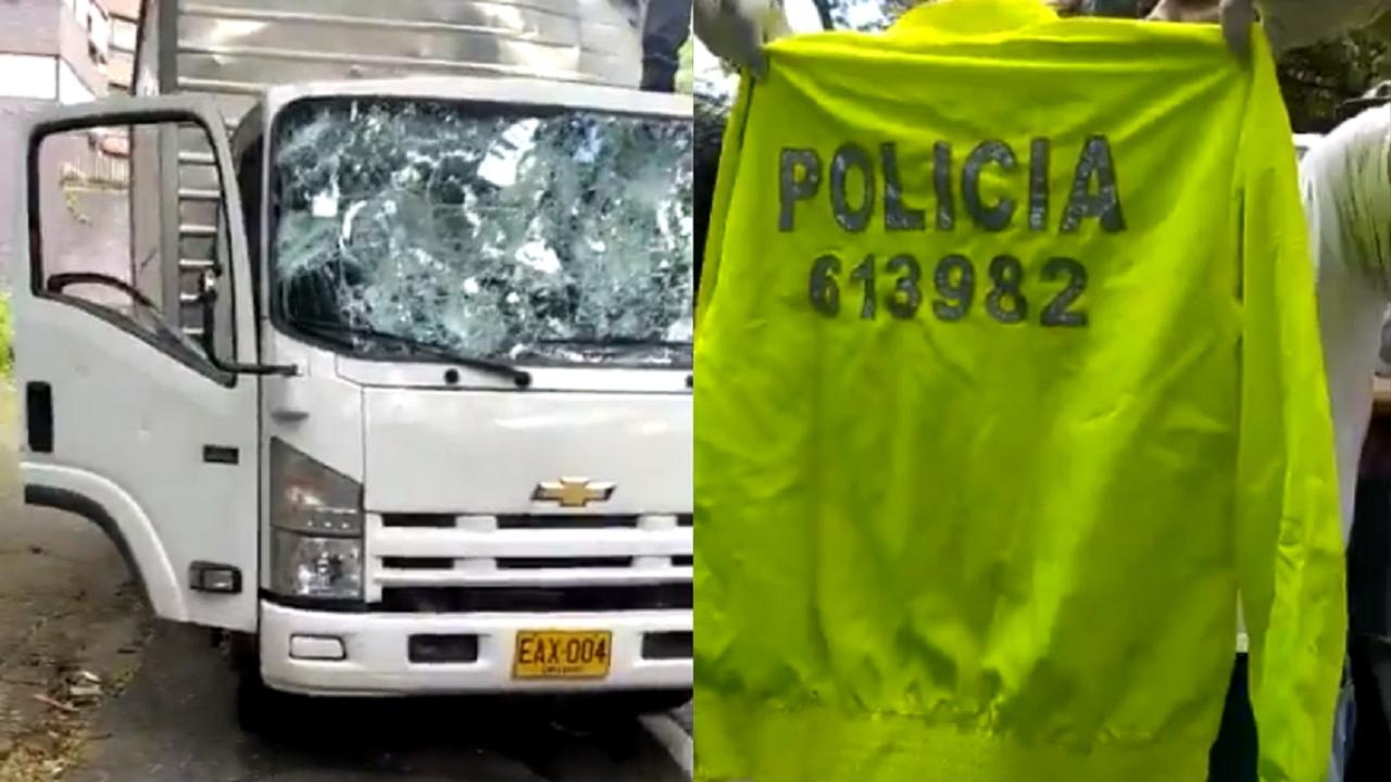 ¿Qué hay detrás del camión que llevaba policías vestidos de civil?
