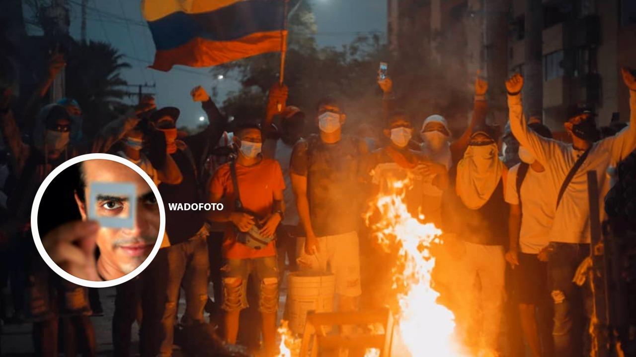 Destacada fotógrafo protesta Paro