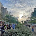 Marcha pacífica de las artes: Estudiantes de Barranquilla alzaron su voz de protesta