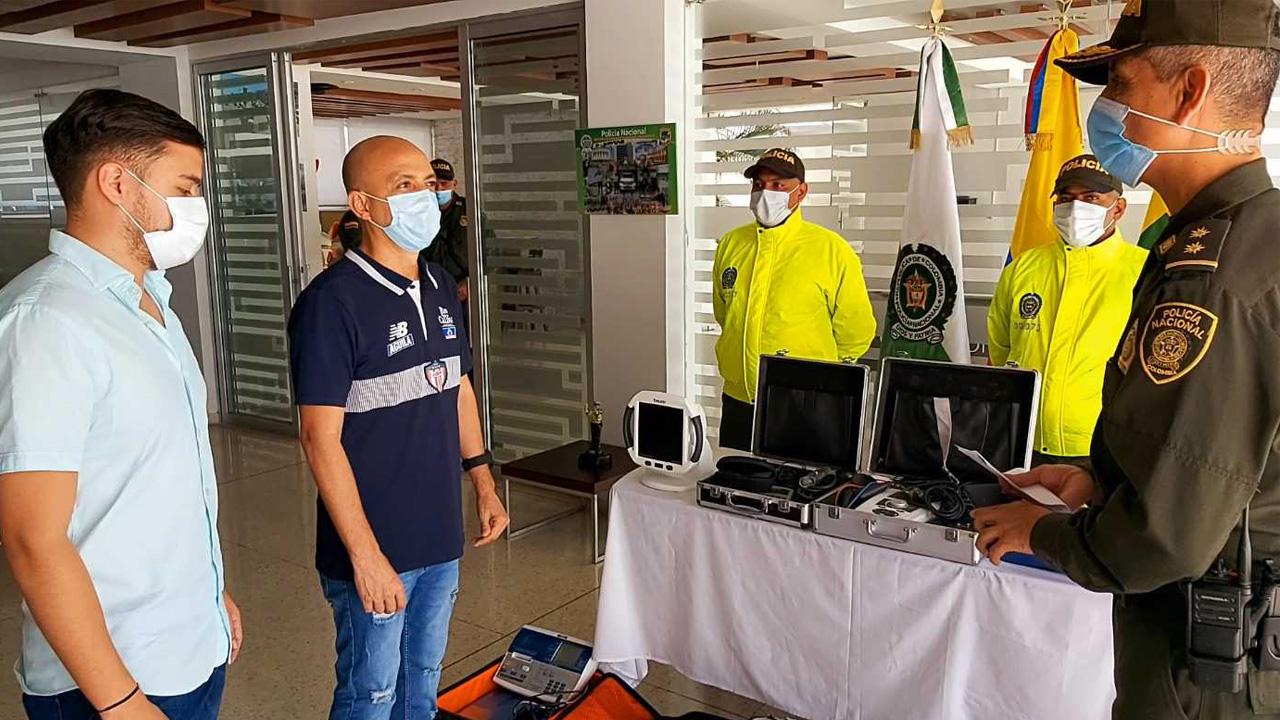 Policía recuperó elementos hurtados en sede deportiva del Junior