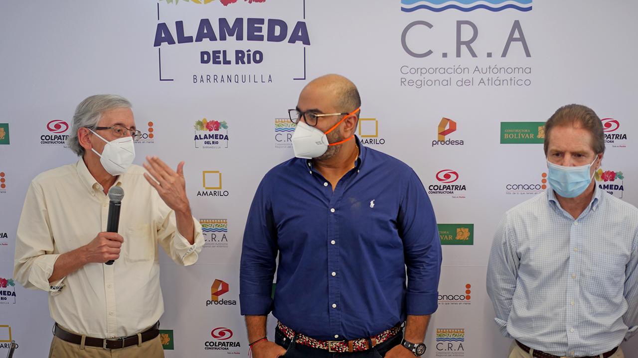 C.R.A. socializó plan de compensación ambiental de Alameda del Río