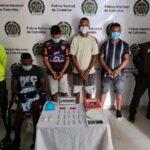 Capturan a cuatro presuntos miembros de 'Los Felipitos 2' en Barranquilla