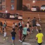 Jóvenes de exclusivo sector de Villa Campestre protagonizaron trifulca tras partido de fútbol