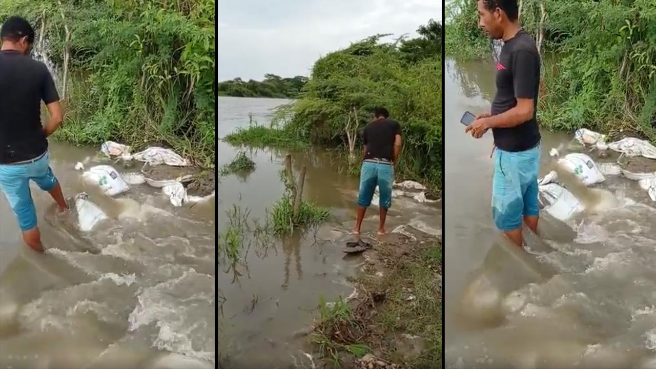 Inundación canal del Dique6
