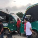 Conductores de buses en paro por reciente atentado en Soledad
