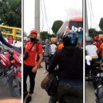En mototaxis debieron llegar jugadores del Junior al aeropuerto por bloqueos de buses