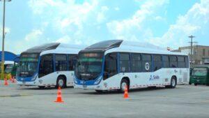 Sistema de pago electrónico en buses de Barranquilla y su área metropolitana