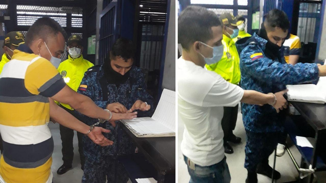 Trasladan a 'Tommy Masacre' y a Juan Borré a la cárcel Picota de Bogotá