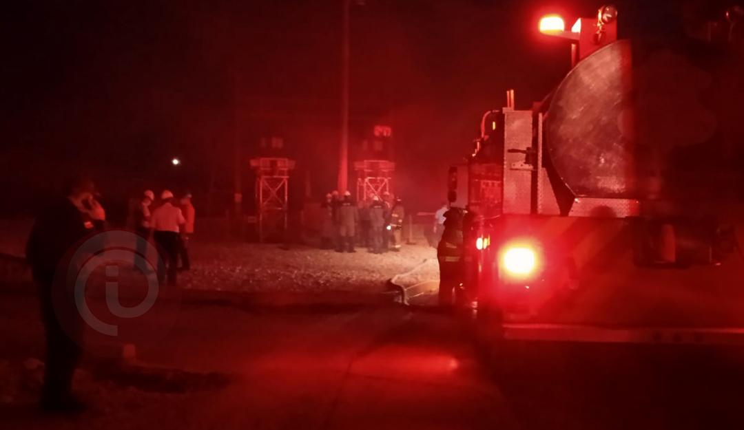 Cuerpo de bomberos controló incendio en subestación Silencio