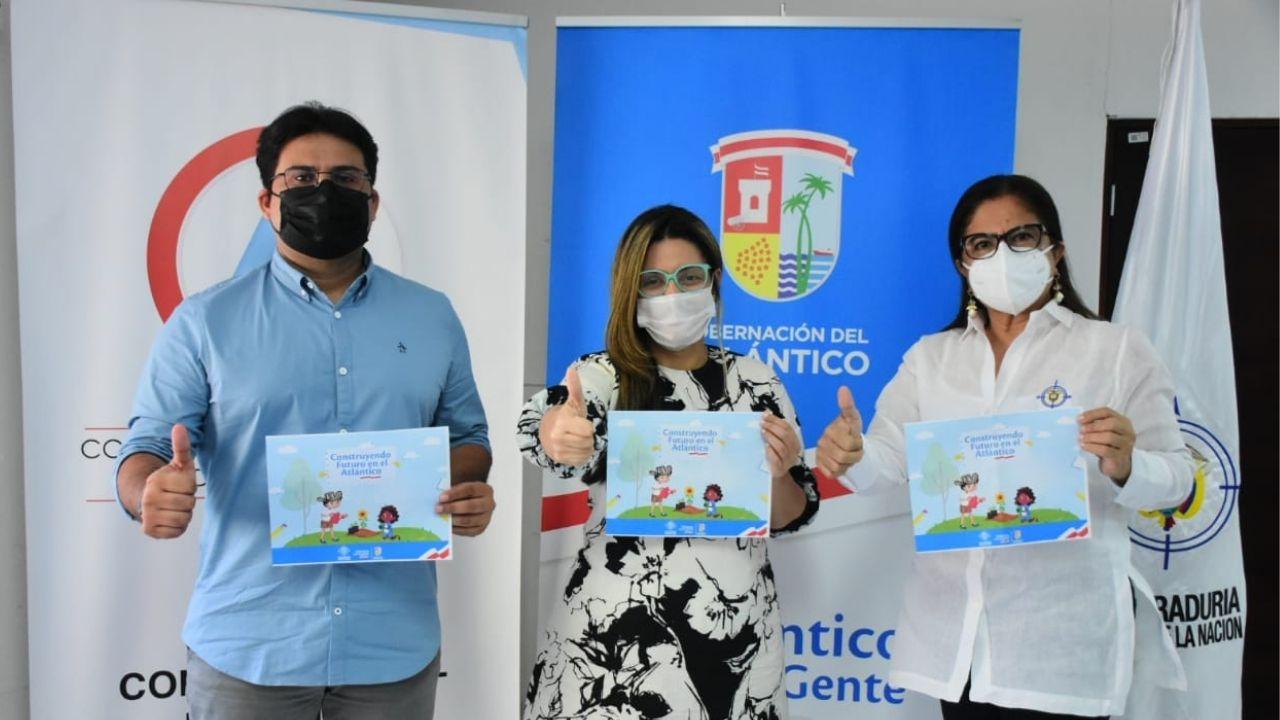 Gobernación del Atlántico, Procuraduría y Contraloría formarán estudiantes en temas ciudadanos