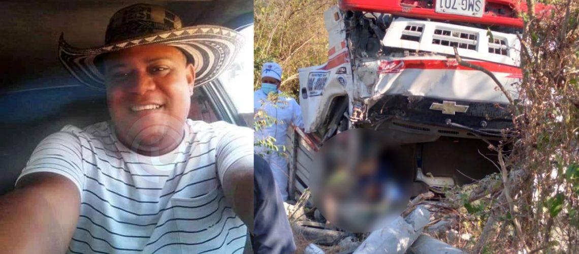 Accidente camión Tubará1A